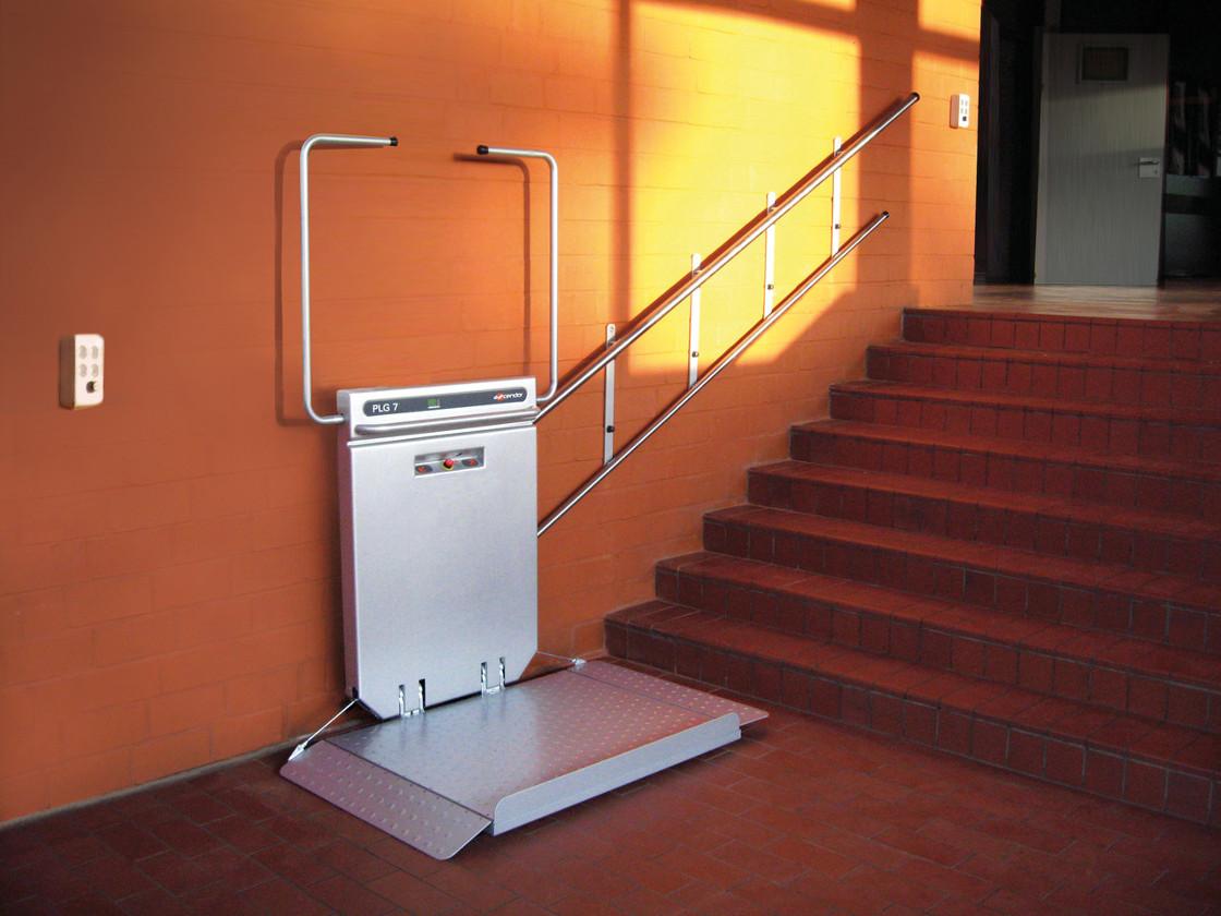 plateforme monte escalier