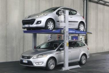 élévateur de parking