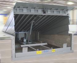 rampe de quai hydraulique