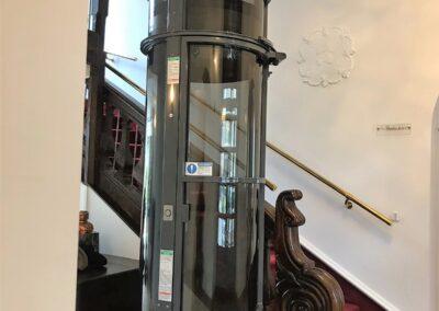 Ascenseur pneumatique panoramique